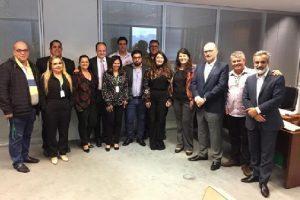 Prefeita Cici Magalhães e Secretária de Saúde participam de reunião na Cidade Administrativa