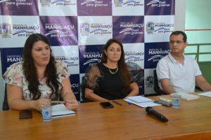 Coronavírus: Durante coletiva, prefeita e secretária de saúde falam da situação em Manhuaçu