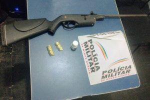 Manhuaçu: Arma de fogo é apreendida na Ponte do Silva