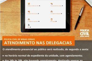 Polícia informa sobre o atendimento na 6ª Delegacia de Manhuaçu