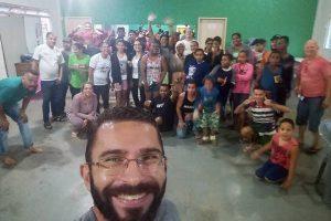 Bairro São Francisco de Assis realiza ação solidária na sede do CAF