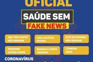 Esteja atento às notícias falsas sobre coronavírus