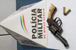 Manhuaçu: PM apreende arma de fogo na Vila Deolinda