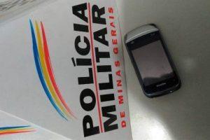 Roubam celular e vão presos pela PM em Manhuaçu