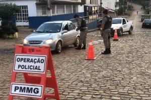 PM desenvolve operação e se reúne com a comunidade em Pontões