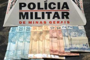 Manhuaçu: PM prende ladrão e recupera dinheiro