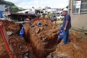 SAAE amplia rede água no Bairro Bom Jardim