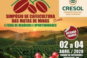 Abril: Vem aí o 23º Simpósio de Cafeicultura