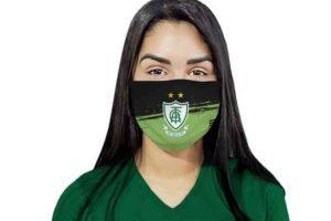 América lança máscara personalizada para combate ao coronavírus