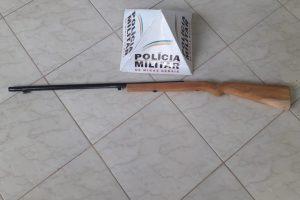 Arma de fogo é apreendida em Sericita