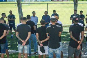 Cruzeiro recua projeta retorno aos treinos na próxima semana