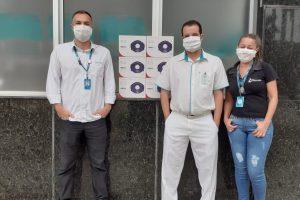 Grupo Energisa doa máscaras para o Hospital César Leite