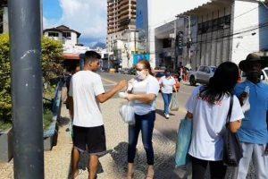 Prefeitura continua distribuição de máscaras gratuitamente