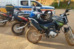 PM recupera duas motocicletas no mesmo dia