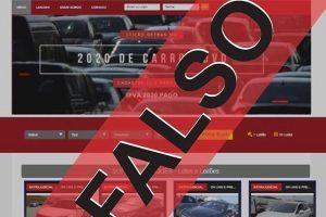 Polícia Civil alerta para golpes de site falso de leilão