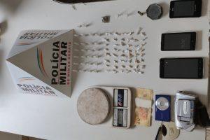 Matipó: Drogas são apreendidas no bairro Boa Vista