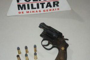 Arma de fogo é apreendida pela PM em Lajinha