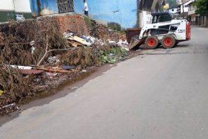 SAMAL realiza limpeza geral em vários pontos da cidade