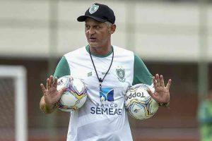 Covid-19: América adia retorno de técnico Lisca, Matheusinho e auxiliar-técnico