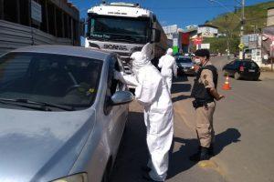 Barreira sanitária continua monitorando casos de Covid-19