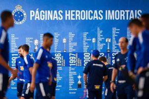 Cruzeiro quer pelo menos 20 dias de 'intertemporada'