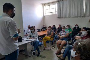 Funcionários do Hospital Municipal e UAR participam de capacitaçao e higiene