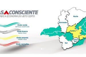 Manhuaçu abrirá comércios após progresso para a onda amarela