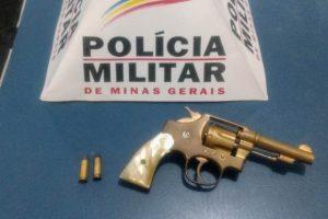 Após denúncia, PM apreende arma de fogo no bairro Matinha