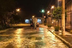 Coronavírus: Ruas continuam sendo higienizadas em Manhuaçu