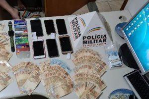 PM prende autores de estelionato que aplicavam golpes em agências bancárias da região