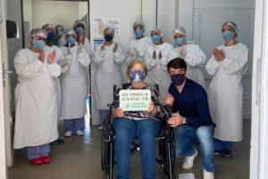 Mais curados da Covid-19 recebem alta do HCL