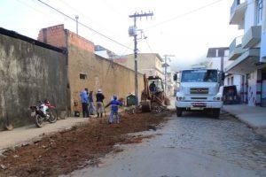 Rede pluvial é ampliada no Bom Pastor