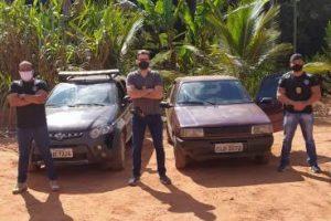 Carro recuperado e estelionatário preso pela PC