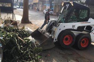 Prefeitura de Manhuaçu intensifica ações de limpeza na cidade