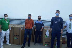 Covid-19: Governo de Minas entrega respiradores ao Hospital César Leite