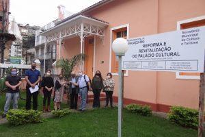 Prefeitura restaura o Palácio da Cultura de Manhuaçu