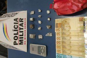 Drogas são apreendidas em Manhuaçu e Sericita