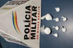 Manhuaçu: PM apreende drogas no bairro São Francisco de Assis