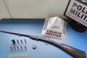 Plantão da PM: Arma é apreendida na Matinha