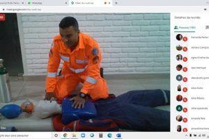 Corpo de Bombeiros de Manhuaçu realiza palestra através de videoconferência