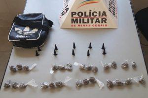 Plantão da PM: Drogas são apreendidas em Sericita