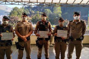 PM realiza entrega de certificados aos destaques do 1º semestre/2020