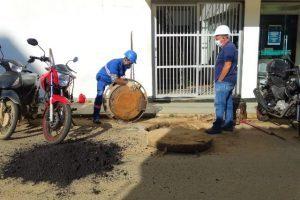SAAE realiza diversas reformas e reparos na cidade e distritos