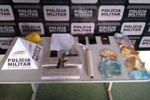 Plantão PM: Drogas apreendidas e foragido preso