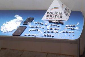 Plantão PM: Prisão, armas e drogas apreendidas em Manhuaçu e região