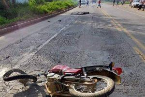 São João do Manhuaçu: Jovem morre em acidente na BR 116