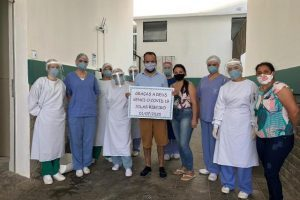 HCL soma 32 altas hospitalares da Unidade Covid-19
