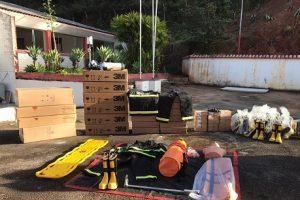 Corpo de Bombeiros de Manhuaçu recebe diversas doações