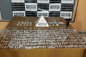 Plantão PM: Drogas apreendidas em festa; Autor de facadas é preso