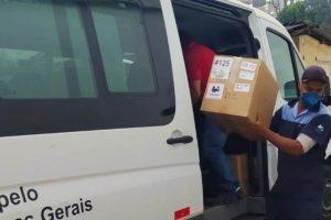 Romeu Zema faz nova entrega de respiradores em Manhuaçu
